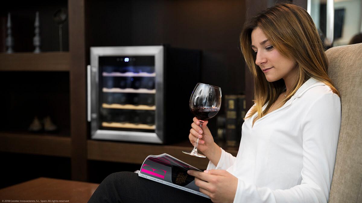 Vinoteca Grand Sommelier 1600 SilenceWood