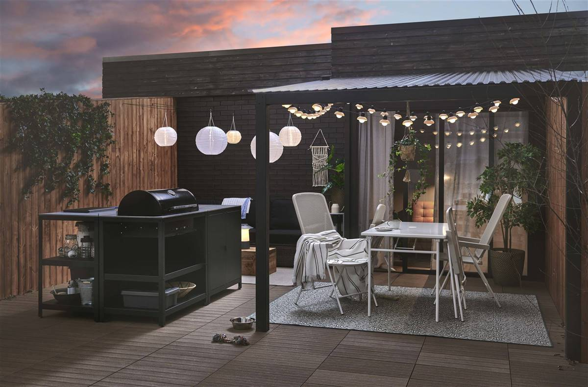 muebles de IKEA para terraza y jardín 2021