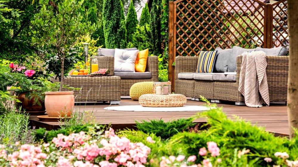 muebles de jardín Brico Depot 2021